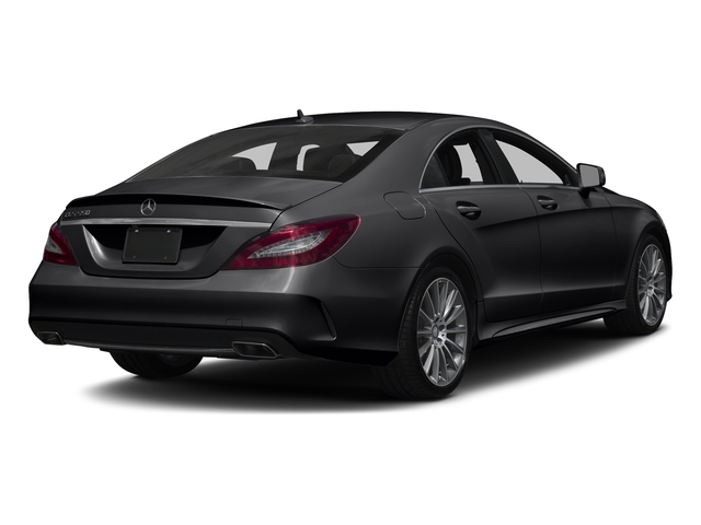 Black 2017 Mercedes-Benz CLS Pictures CLS CLS 550 4MATIC Coupe photos rear view
