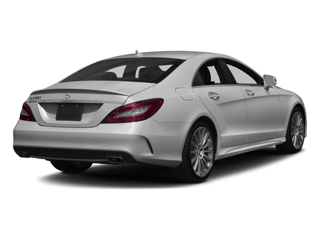 designo Magno Alanite Grey (Matte Finish) 2017 Mercedes-Benz CLS Pictures CLS CLS 550 4MATIC Coupe photos rear view
