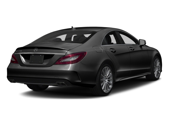 Magnetite Black Metallic 2017 Mercedes-Benz CLS Pictures CLS CLS 550 4MATIC Coupe photos rear view