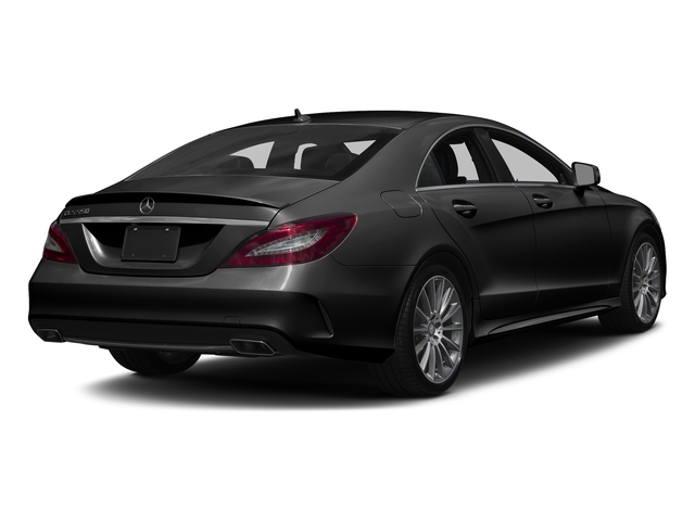 Obsidian Black Metallic 2017 Mercedes-Benz CLS Pictures CLS CLS 550 4MATIC Coupe photos rear view