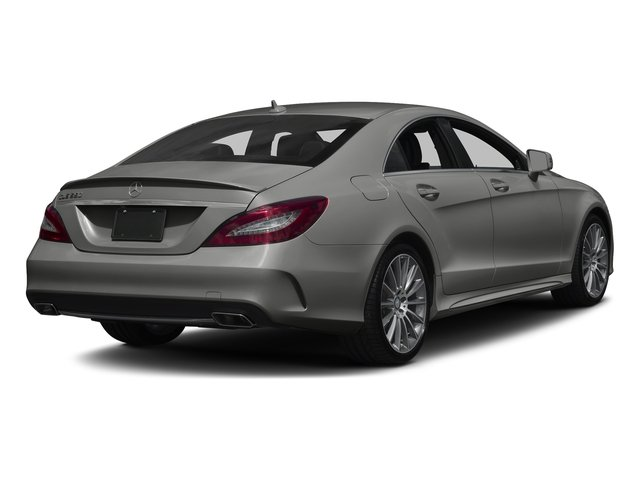 designo Magno Selenite Grey (Matte Finish) 2017 Mercedes-Benz CLS Pictures CLS CLS 550 4MATIC Coupe photos rear view