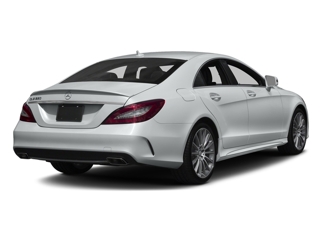 Iridium Silver Metallic 2017 Mercedes-Benz CLS Pictures CLS CLS 550 4MATIC Coupe photos rear view