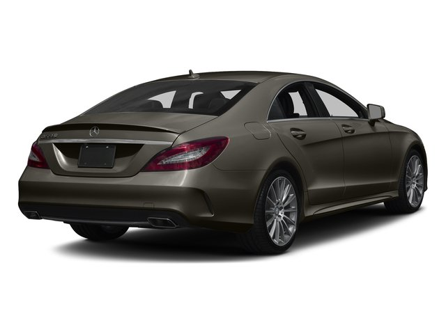 Dakota Brown Metallic 2017 Mercedes-Benz CLS Pictures CLS CLS 550 4MATIC Coupe photos rear view