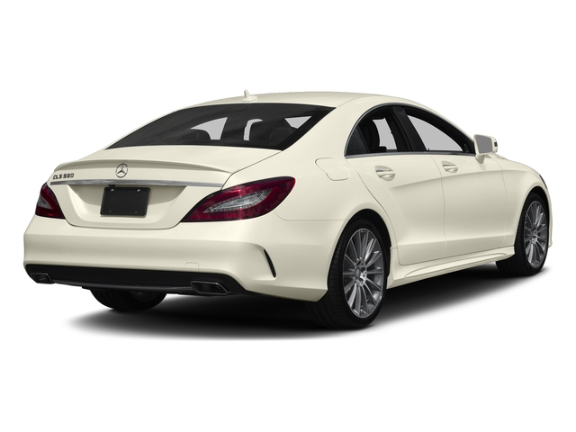 designo Diamond White Metallic 2017 Mercedes-Benz CLS Pictures CLS CLS 550 4MATIC Coupe photos rear view
