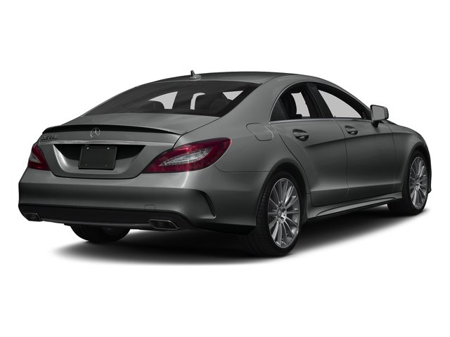 Selenite Grey Metallic 2017 Mercedes-Benz CLS Pictures CLS CLS 550 4MATIC Coupe photos rear view