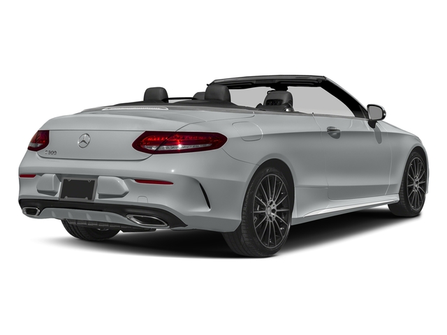Iridium Silver Metallic 2017 Mercedes-Benz C-Class Pictures C-Class Convertible 2D C300 AWD I4 Turbo photos rear view