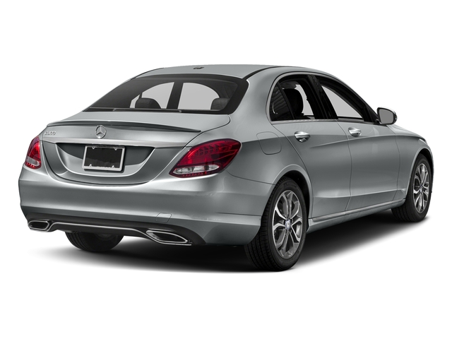 Iridium Silver Metallic 2017 Mercedes-Benz C-Class Pictures C-Class Sedan 4D C300 I4 Turbo photos rear view