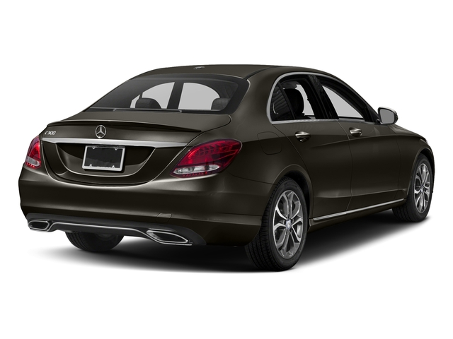 Dakota Brown Metallic 2017 Mercedes-Benz C-Class Pictures C-Class Sedan 4D C300 I4 Turbo photos rear view