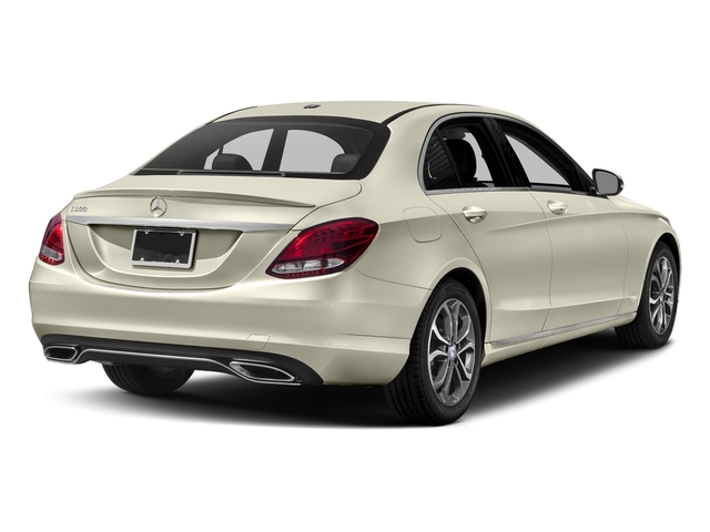 designo Diamond White Metallic 2017 Mercedes-Benz C-Class Pictures C-Class Sedan 4D C300 I4 Turbo photos rear view