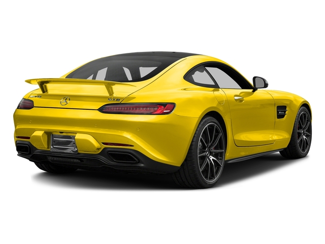 AMG Solarbeam Yellow 2017 Mercedes-Benz AMG GT Pictures AMG GT S 2 Door Coupe photos rear view