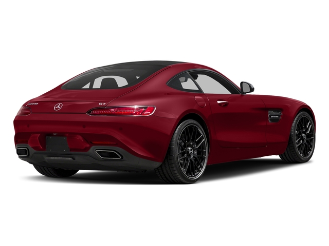 Mars Red 2017 Mercedes-Benz AMG GT Pictures AMG GT 2 Door Coupe photos rear view