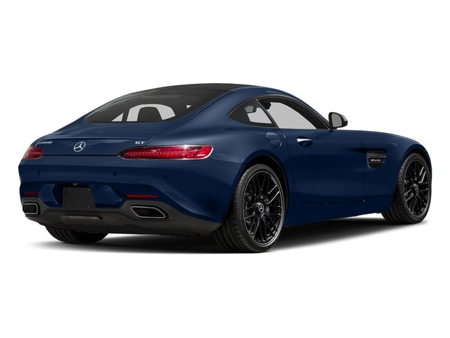 Brilliant Blue 2017 Mercedes-Benz AMG GT Pictures AMG GT 2 Door Coupe photos rear view