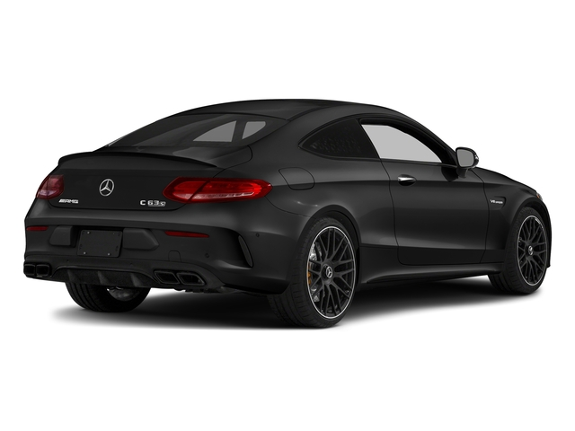 Obsidian Black Metallic 2017 Mercedes-Benz C-Class Pictures C-Class AMG C 63 S Coupe photos rear view