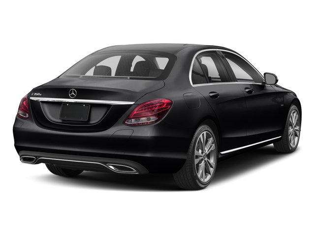 Black 2017 Mercedes-Benz C-Class Pictures C-Class C 350e Sedan photos rear view