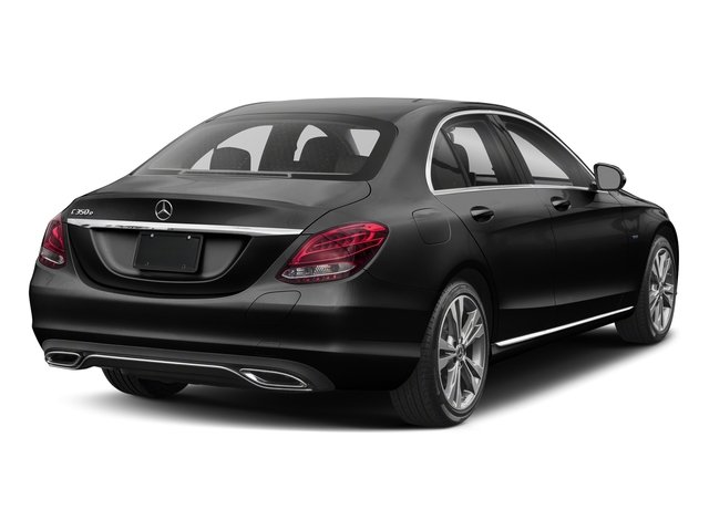 Obsidian Black Metallic 2017 Mercedes-Benz C-Class Pictures C-Class C 350e Sedan photos rear view