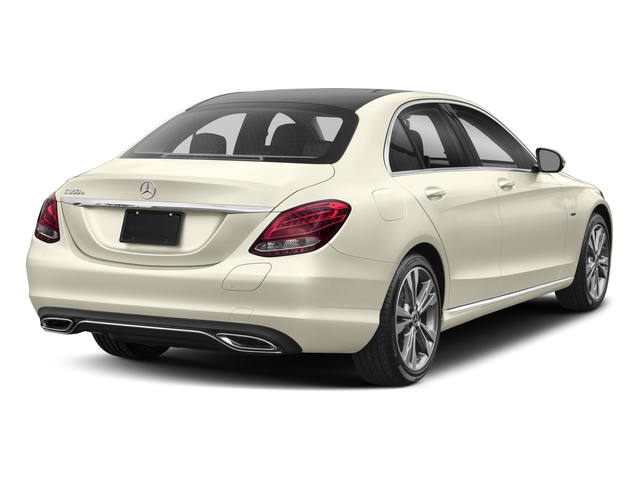 designo Diamond White Metallic 2017 Mercedes-Benz C-Class Pictures C-Class C 350e Sedan photos rear view