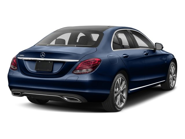 Brilliant Blue Metallic 2017 Mercedes-Benz C-Class Pictures C-Class C 350e Sedan photos rear view