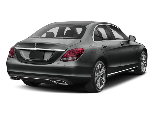 Selenite Grey Metallic 2017 Mercedes-Benz C-Class Pictures C-Class C 350e Sedan photos rear view
