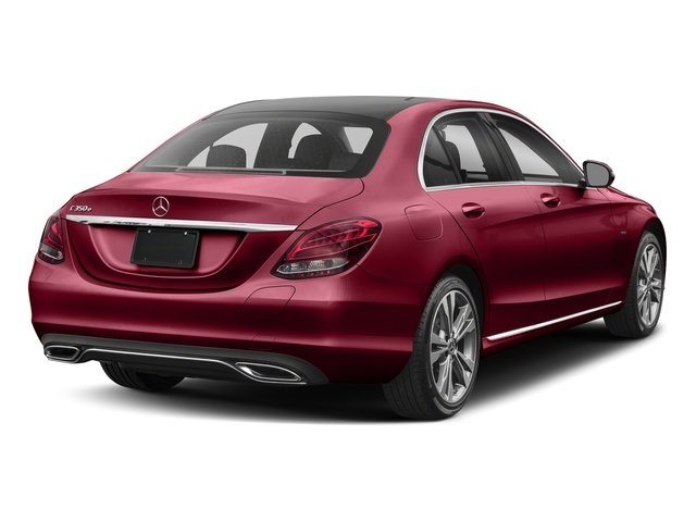 designo Cardinal Red Metallic 2017 Mercedes-Benz C-Class Pictures C-Class C 350e Sedan photos rear view