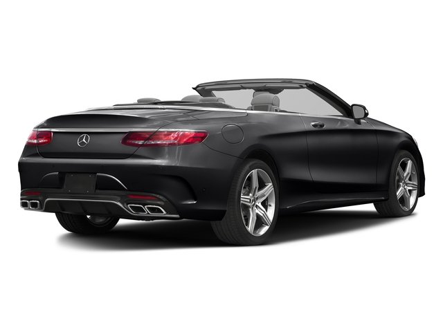 Black 2017 Mercedes-Benz S-Class Pictures S-Class AMG S 63 4MATIC Cabriolet photos rear view
