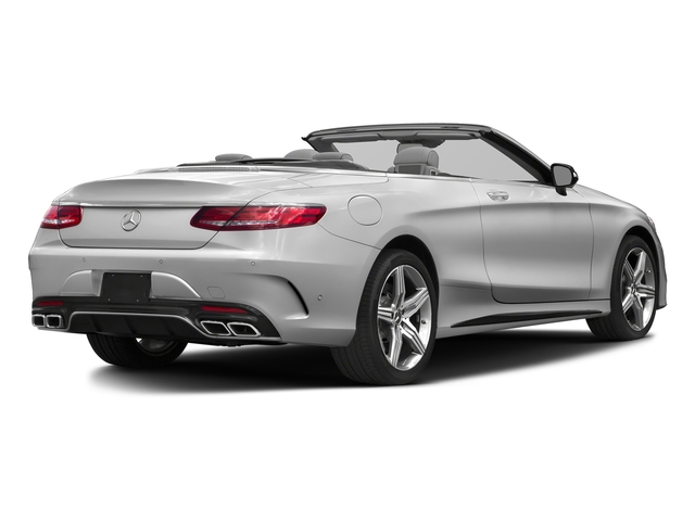 designo Magno Alanite Grey (Matte Finish) 2017 Mercedes-Benz S-Class Pictures S-Class Convertible 2D S63 AMG AWD V8 Turbo photos rear view