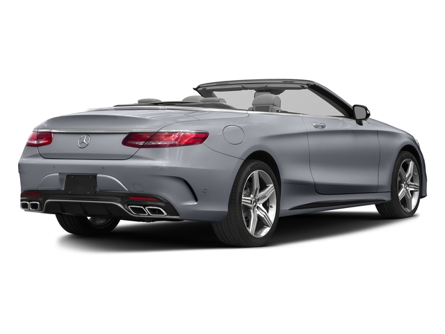 AMG Alubeam Silver 2017 Mercedes-Benz S-Class Pictures S-Class AMG S 63 4MATIC Cabriolet photos rear view