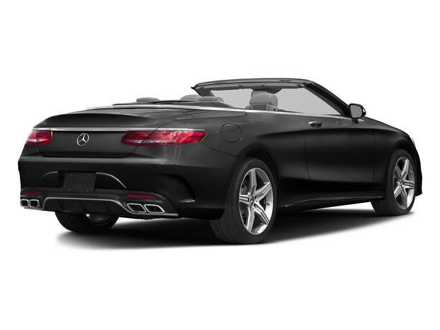 Obsidian Black Metallic 2017 Mercedes-Benz S-Class Pictures S-Class AMG S 63 4MATIC Cabriolet photos rear view