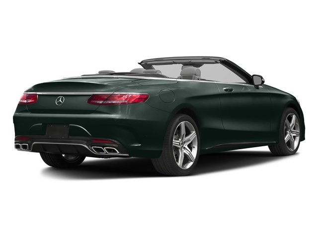 Emerald Green Metallic 2017 Mercedes-Benz S-Class Pictures S-Class AMG S 63 4MATIC Cabriolet photos rear view