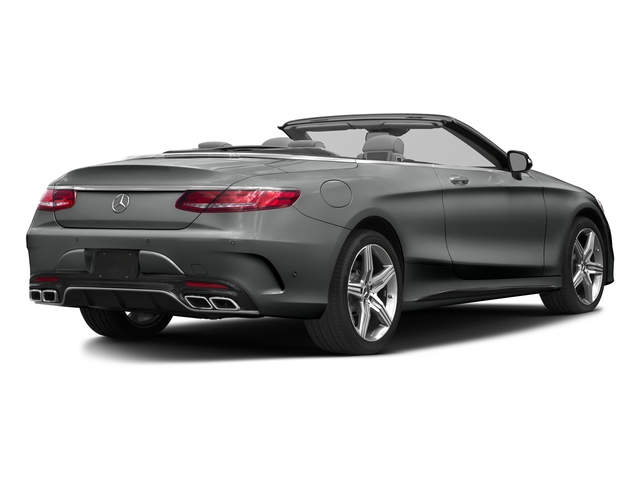 Selenite Grey Metallic 2017 Mercedes-Benz S-Class Pictures S-Class Convertible 2D S63 AMG AWD V8 Turbo photos rear view