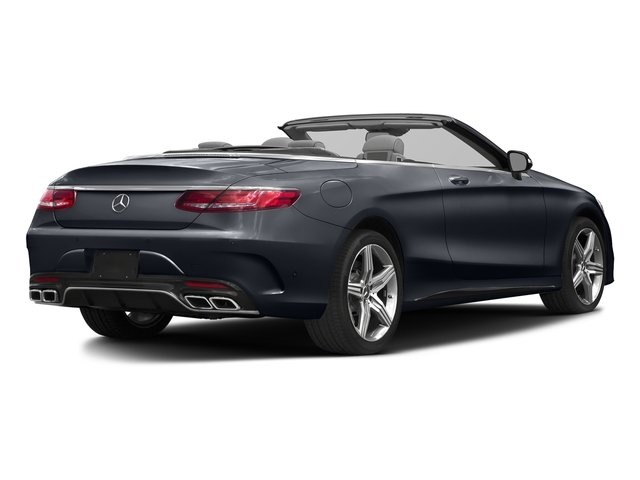 Anthracite Blue Metallic 2017 Mercedes-Benz S-Class Pictures S-Class Convertible 2D S63 AMG AWD V8 Turbo photos rear view