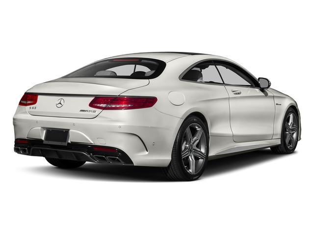designo Magno Cashmere White (Matte Finish) 2017 Mercedes-Benz S-Class Pictures S-Class AMG S 63 4MATIC Coupe photos rear view