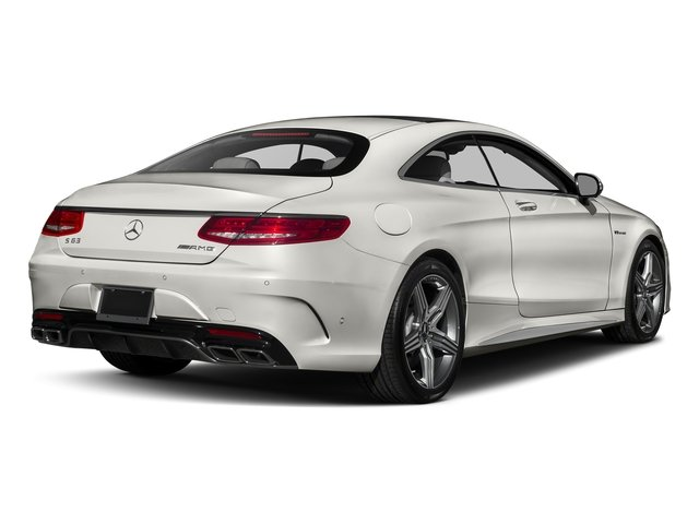 designo Magno Cashmere White (Matte Finish) 2017 Mercedes-Benz S-Class Pictures S-Class Coupe 2D S63 AMG AWD V8 Turbo photos rear view