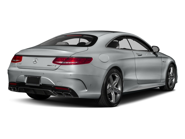 Iridium Silver Metallic 2017 Mercedes-Benz S-Class Pictures S-Class Coupe 2D S63 AMG AWD V8 Turbo photos rear view