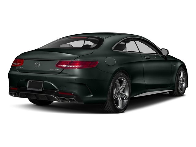Emerald Green Metallic 2017 Mercedes-Benz S-Class Pictures S-Class AMG S 63 4MATIC Coupe photos rear view