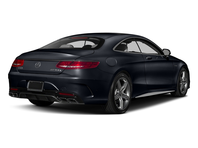 Anthracite Blue Metallic 2017 Mercedes-Benz S-Class Pictures S-Class Coupe 2D S63 AMG AWD V8 Turbo photos rear view