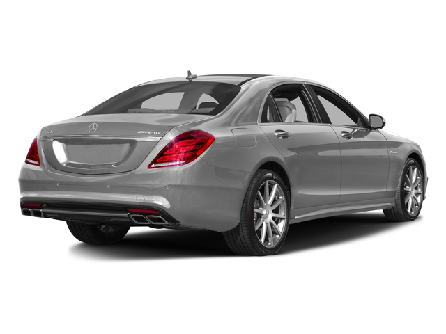 designo Magno Alanite Grey (Matte Finish) 2017 Mercedes-Benz S-Class Pictures S-Class AMG S 63 4MATIC Sedan photos rear view