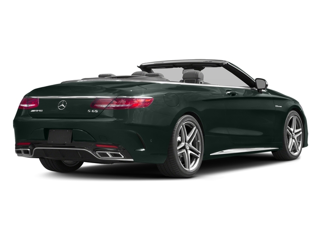 Emerald Green Metallic 2017 Mercedes-Benz S-Class Pictures S-Class AMG S 65 Cabriolet photos rear view