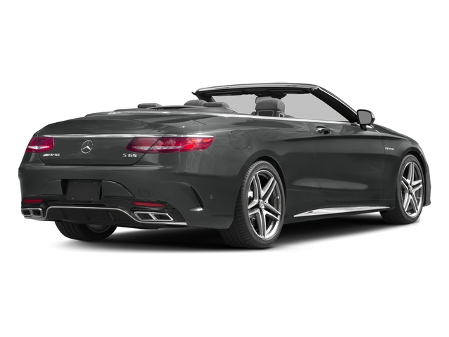 Selenite Grey Metallic 2017 Mercedes-Benz S-Class Pictures S-Class AMG S 65 Cabriolet photos rear view