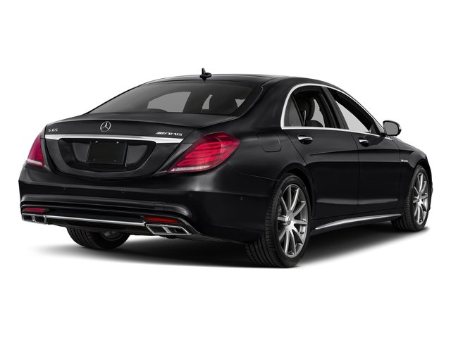 Black 2017 Mercedes-Benz S-Class Pictures S-Class 4 Door Sedan photos rear view