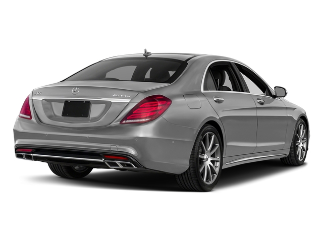 designo Magno Alanite Grey (Matte Finish) 2017 Mercedes-Benz S-Class Pictures S-Class 4 Door Sedan photos rear view