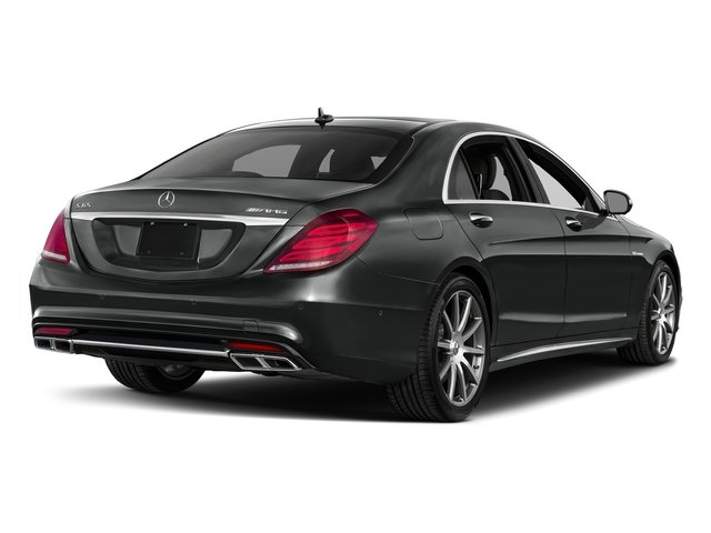 Selenite Grey Metallic 2017 Mercedes-Benz S-Class Pictures S-Class 4 Door Sedan photos rear view