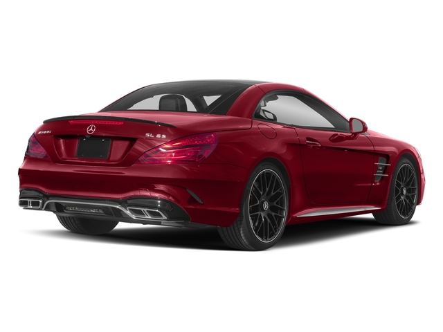 Mars Red 2017 Mercedes-Benz SL Pictures SL AMG SL 65 Roadster photos rear view