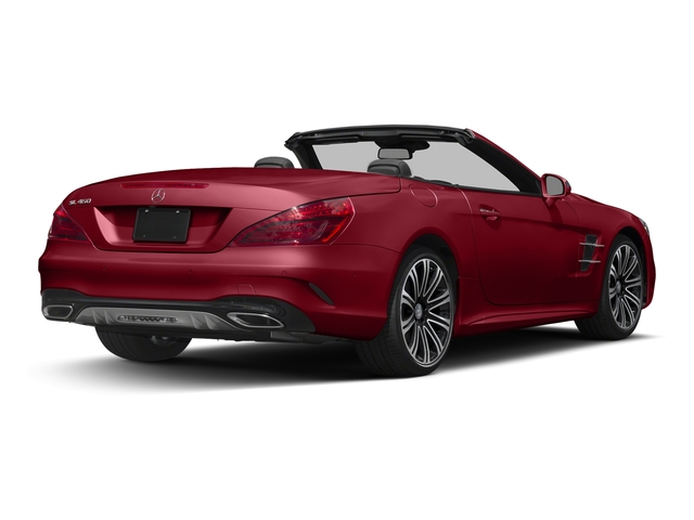 Mars Red 2017 Mercedes-Benz SL Pictures SL Roadster 2D SL450 V6 Turbo photos rear view