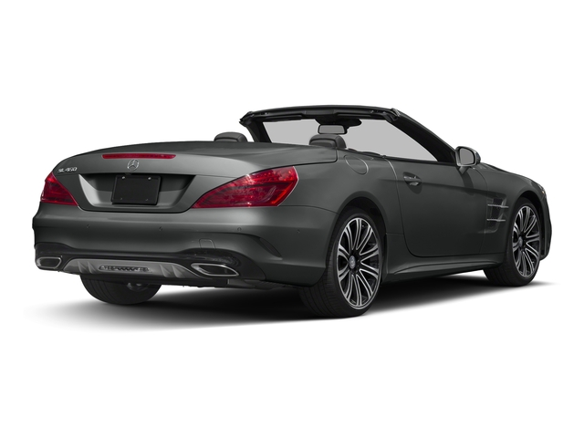 Selenite Grey Metallic 2017 Mercedes-Benz SL Pictures SL Roadster 2D SL450 V6 Turbo photos rear view