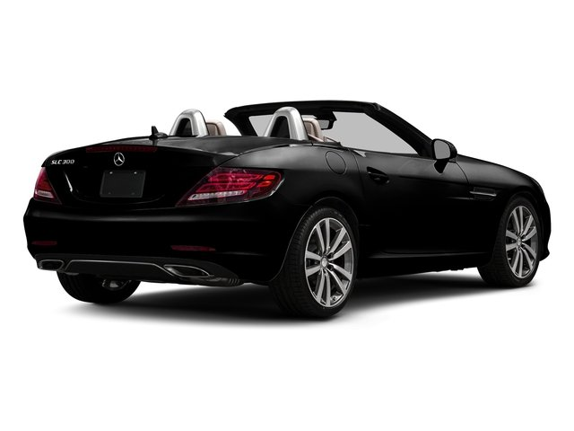 Obsidian Black Metallic 2017 Mercedes-Benz SLC Pictures SLC Roadster 2D SLC300 I4 Turbo photos rear view