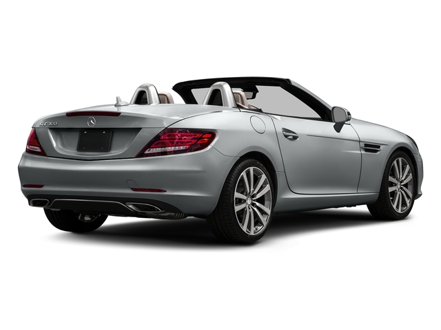 Iridium Silver Metallic 2017 Mercedes-Benz SLC Pictures SLC Roadster 2D SLC300 I4 Turbo photos rear view