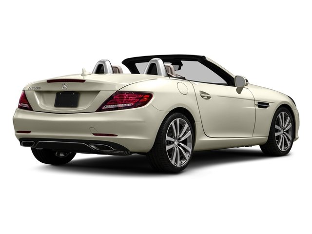 designo Diamond White Metallic 2017 Mercedes-Benz SLC Pictures SLC Roadster 2D SLC300 I4 Turbo photos rear view