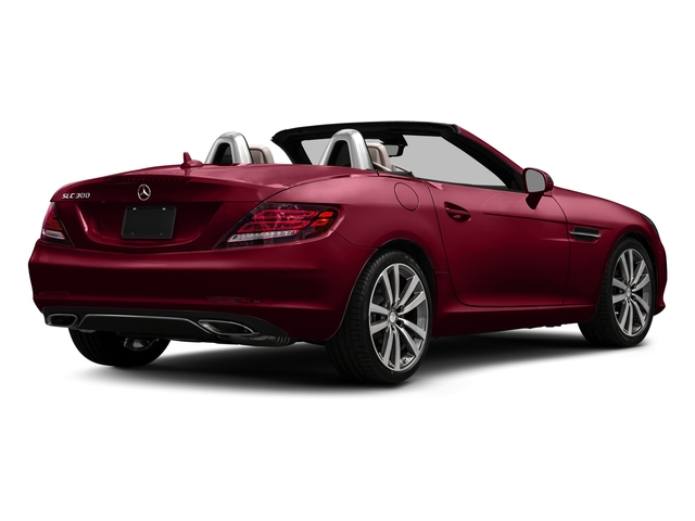 designo Cardinal Red Metallic 2017 Mercedes-Benz SLC Pictures SLC Roadster 2D SLC300 I4 Turbo photos rear view