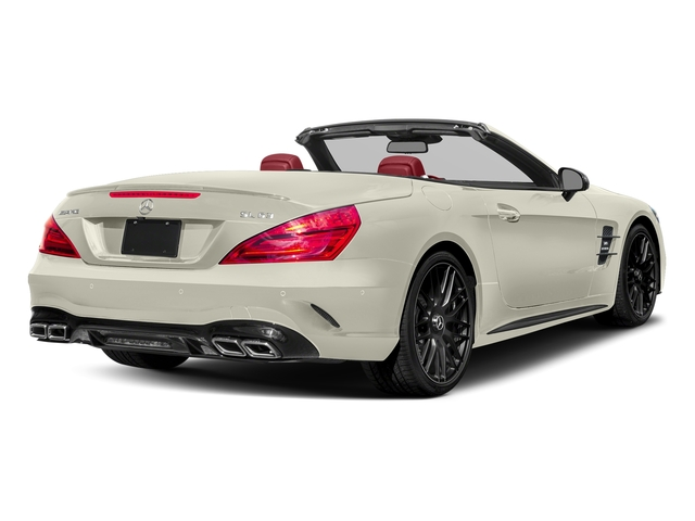 Polar White 2017 Mercedes-Benz SL Pictures SL AMG SL 63 Roadster photos rear view