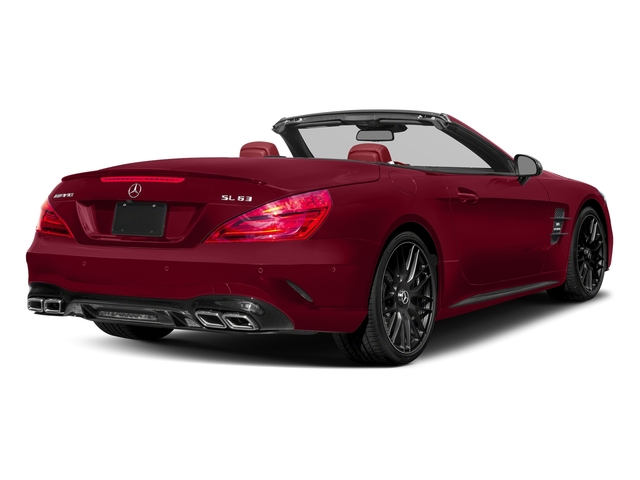 designo Cardinal Red Metallic 2017 Mercedes-Benz SL Pictures SL AMG SL 63 Roadster photos rear view